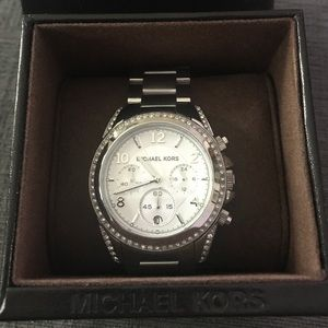 Silver MK ladies watch. BRAND NEW!!